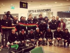 Шведски футболен отбор се размина със самолетната катастрофа във Франция