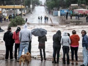 Пустинята Атакама се наводни, двама души са загинали