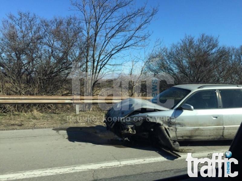 26-годишен шофьор без книжка загина при катастрофа около Първомай