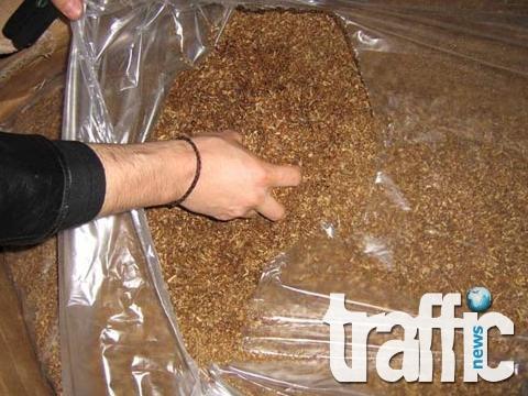 Иззеха 120 килограма нелегален тютюн от Първенец