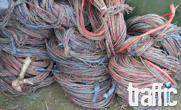 Заловиха крадец на кабели