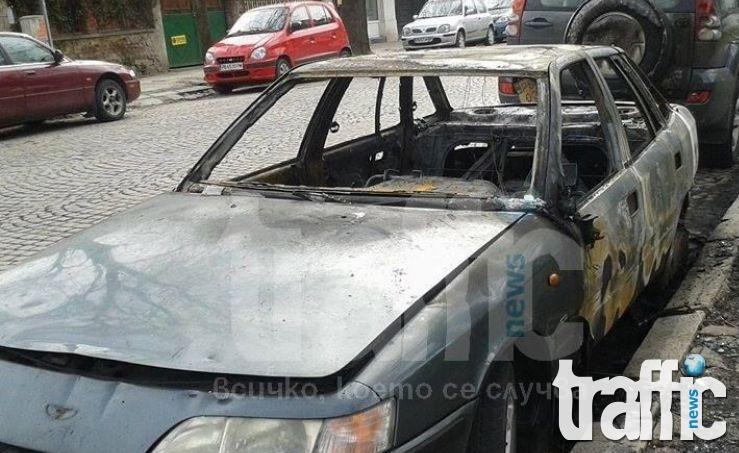 Изгориха два автомобила в Шумен