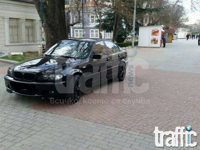 Топ тузар паркира на центъра в Асеновград