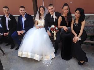 Даньо Секса хвана жартиера на сватбата на най- добрия си приятел