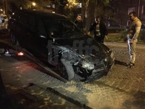 Вижте щетите, които нанесе пияният шофьор с 2,8 промила от Куртово Конаре ВИДЕО