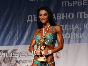 Биляна Йотовска с нов златен медал