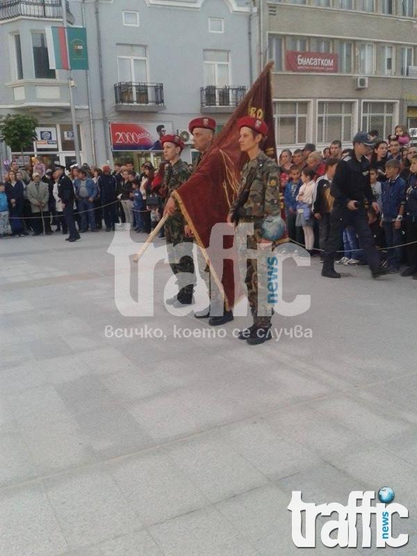 Панагюрци почетоха годишнината от Априлското въстание СНИМКИ