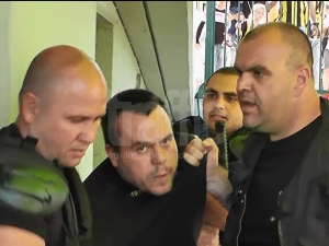 Ето ВИДЕО от боя в Коматево след мача Ботев-Лудогорец
