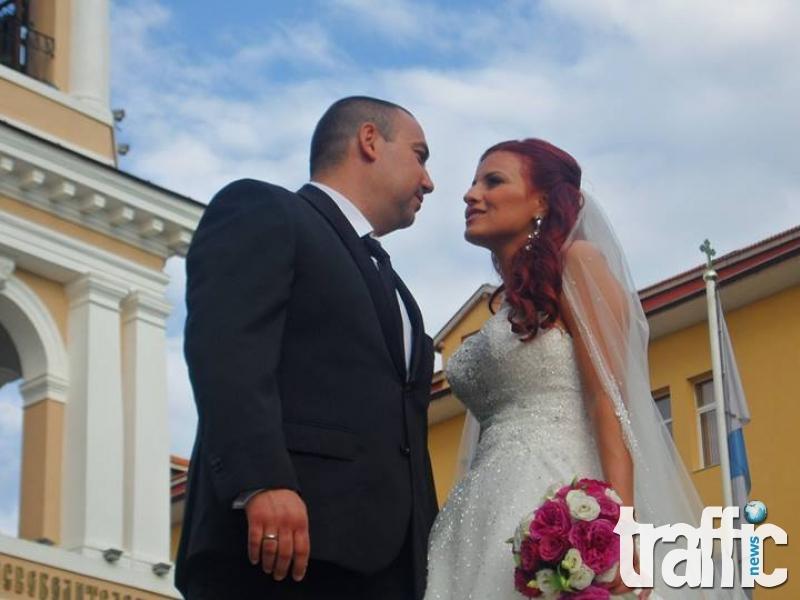 Рачков - специален гост на сватбата на Данчо Михайлов и любимата му Линда