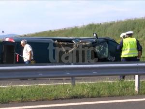 """ВИДЕО от зверската катастрофа с двама загинали на магистрала """"Тракия"""