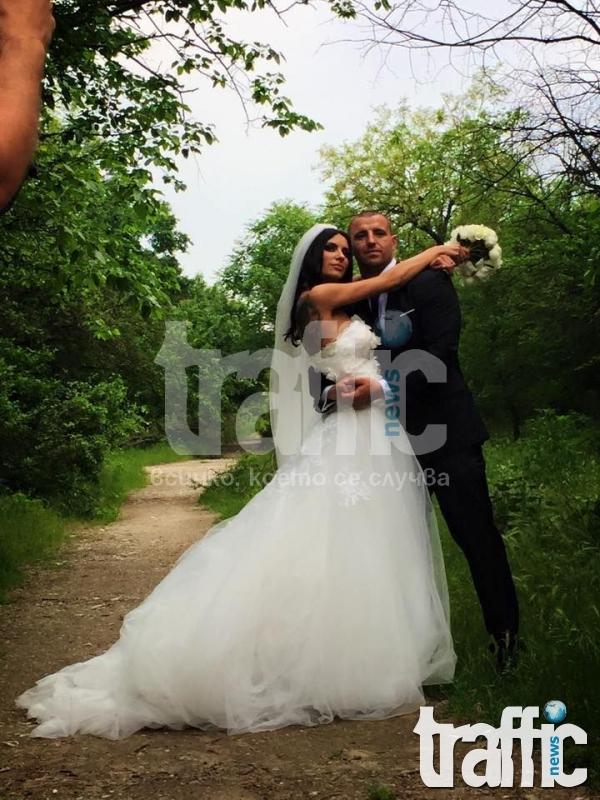 Русата Златка на сватба в Пловдив