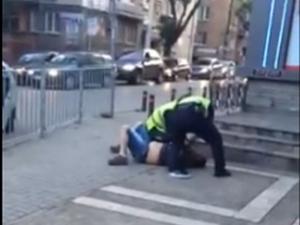 Полицейско насилие в Стара Загора ВИДЕО