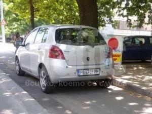 Велоалеите не са безплатен паркинг!