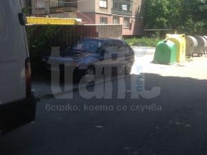 Пореден наглец в Кючука превзе тротоар СНИМКИ