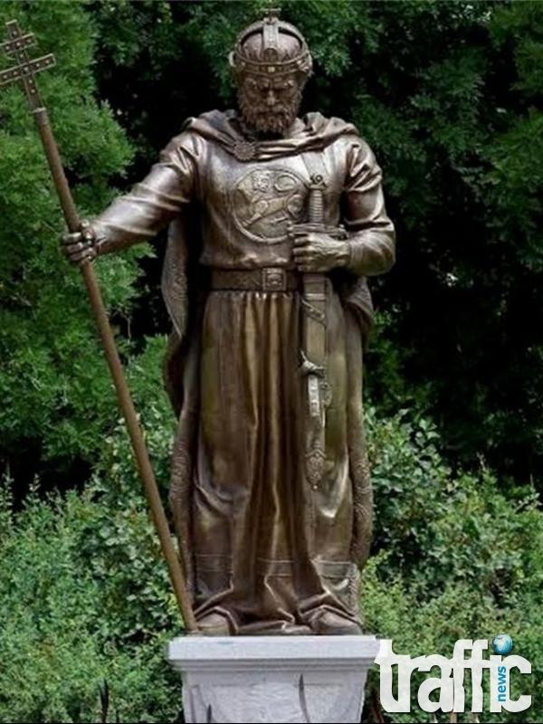 Откриха паметника на цар Самуил СНИМКИ