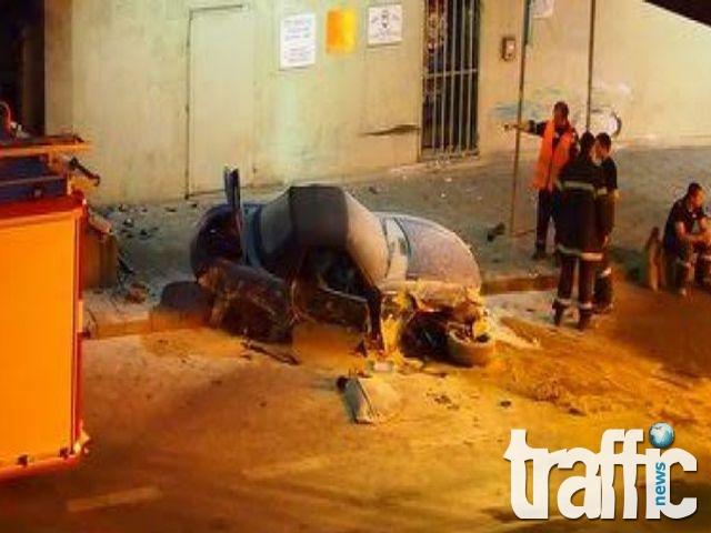 Тежка катастрофа в Тунела под Централна поща СНИМКИ