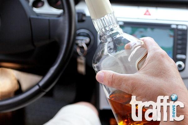 Пияни шофьори вилняха в Пловдив през почивните дни