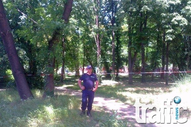 Засечен е човек на записите от убийството на Георги в Борисовата