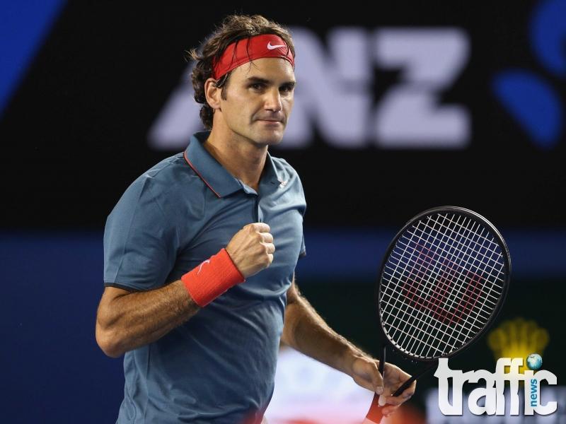 Федерер с рекорд - 90 милиона от наградни фондове