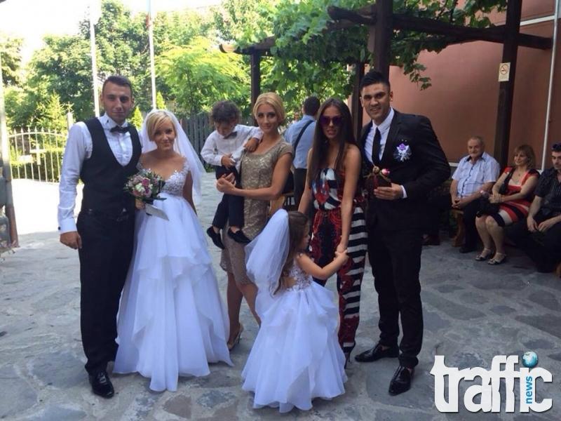 Пиарката на Николета Лозанова вдигна пищна сватба с футболист на Локото