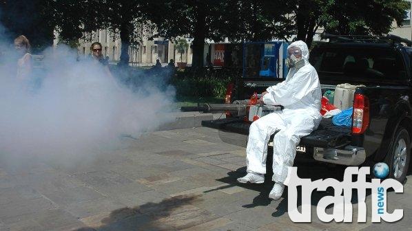 Започва масово пръскане срещу комари в Пловдив