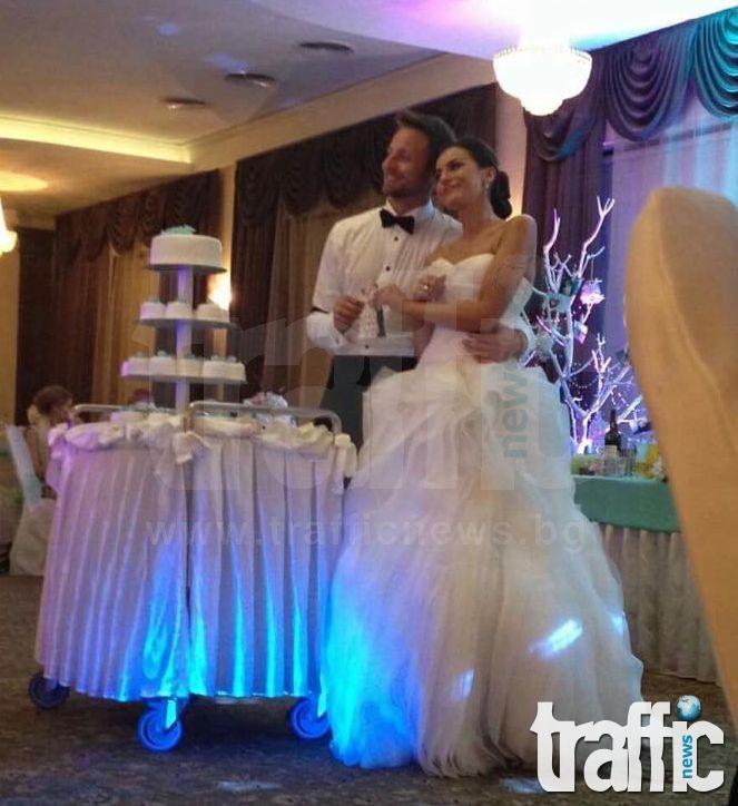 """Българският Шмайхел вдигна пищна сватба в """"Империал"""" СНИМКИ"""