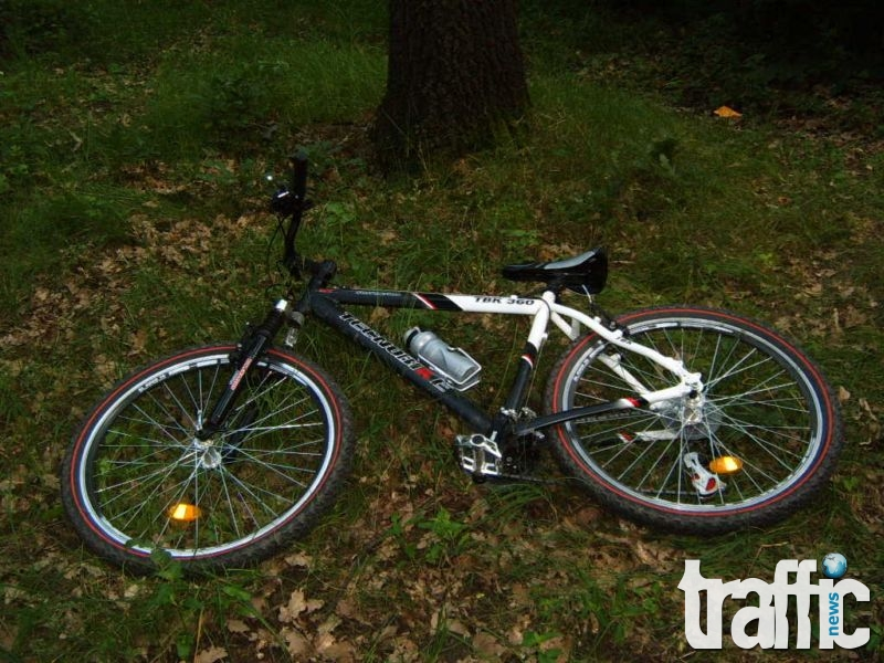 Отмъкнаха колелото на гръцки студент в Пловдив