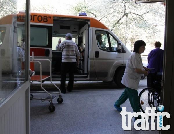 82-годишен шофьор в болница след като предизвика катастрофа