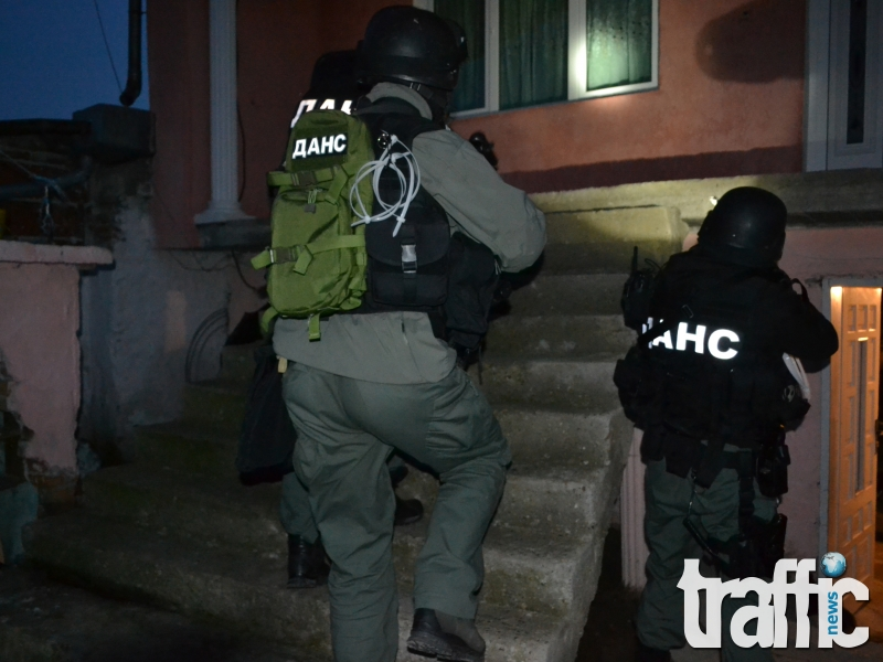 Спецакция тази нощ: Петима в ареста за незаконна търговия с оръжия