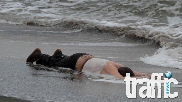 Обезобразено тяло на мъж стресна работници на пристанището в Бургас