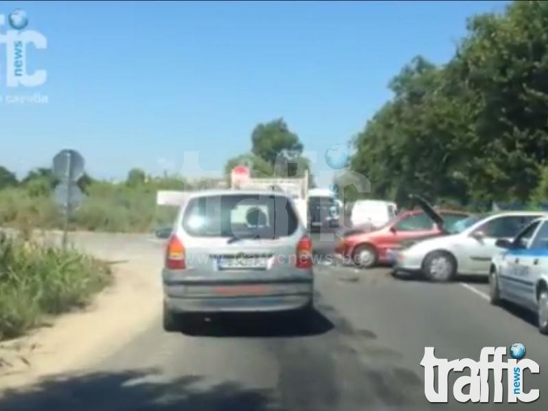 ВИДЕО от катастрофата на Пазарджишко шосе