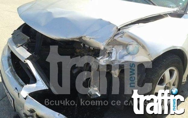 Пиян шофьор предизвика катастрофа, няма пострадали
