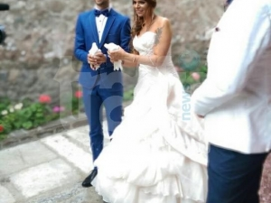 Дъщерята на треньора Ясен Петров вдигна сватба-мечта СНИМКИ