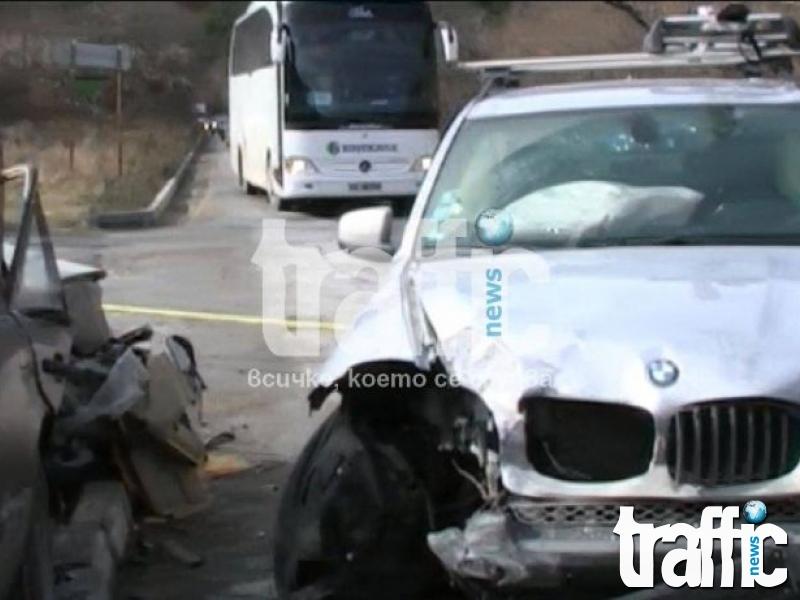 Трима в болница след мелето на пътя Асеновград-Пловдив