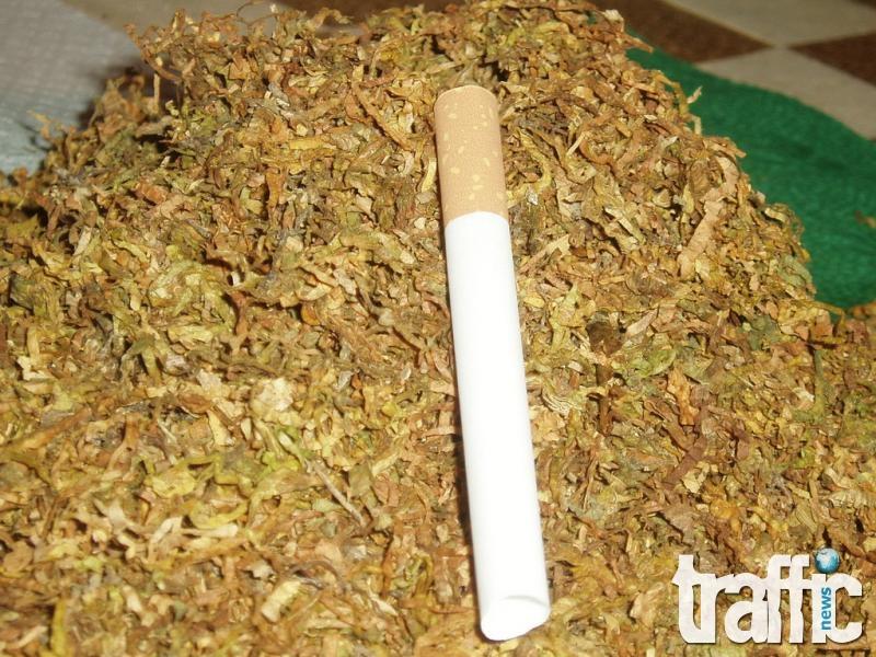Полицаи иззеха 230 килограма тютюн от пловдивчанка