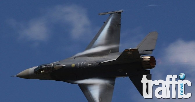 Американски самолет Ф-16  се е разбил в Германия