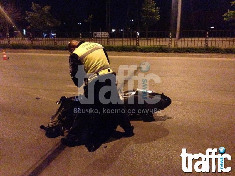 Моторист в кома след тежка катастрофа