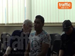 Янко, който убил двама край Пловдив, изоставил колата и хукнал през нивата ВИДЕО