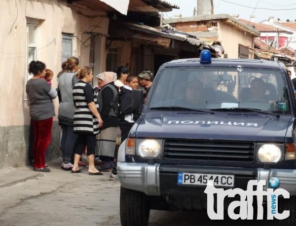 Екшън в Шекера! Ромки бият и хапят полицаи