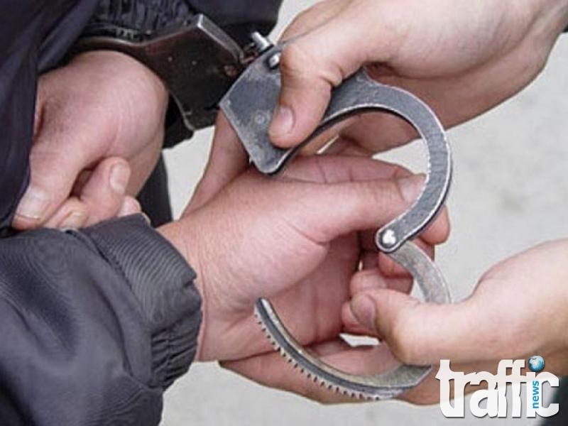 Арестуваха апаш, обрал магазин в центъра на Пловдив