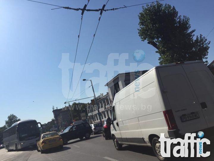 Катастрофа блокира булевард