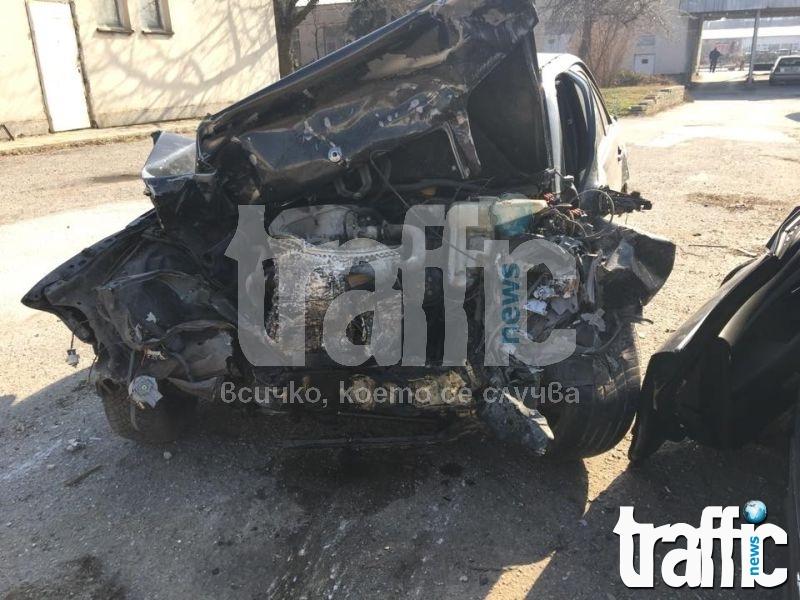 """Жена почина при тежка катастрофа на магистрала """"Тракия"""""""