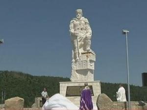 Откриха паметник на митичен борец за свобода