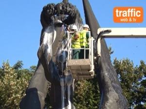 За първи път: Ограмотиха циганите преди миенето на паметника на Съединението ВИДЕО