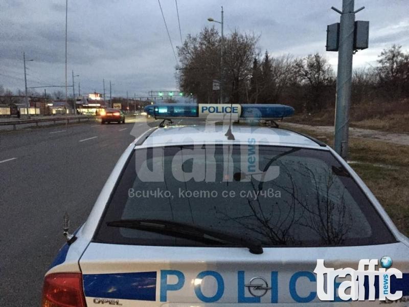 Катастрофа блокира движението в Кючука