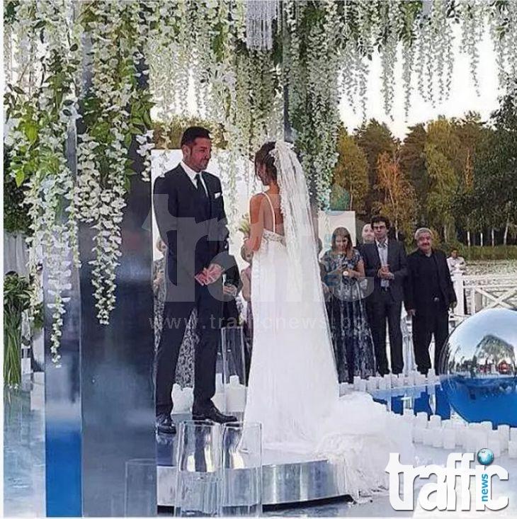 Джизъса и Есмер се ожениха в Москва