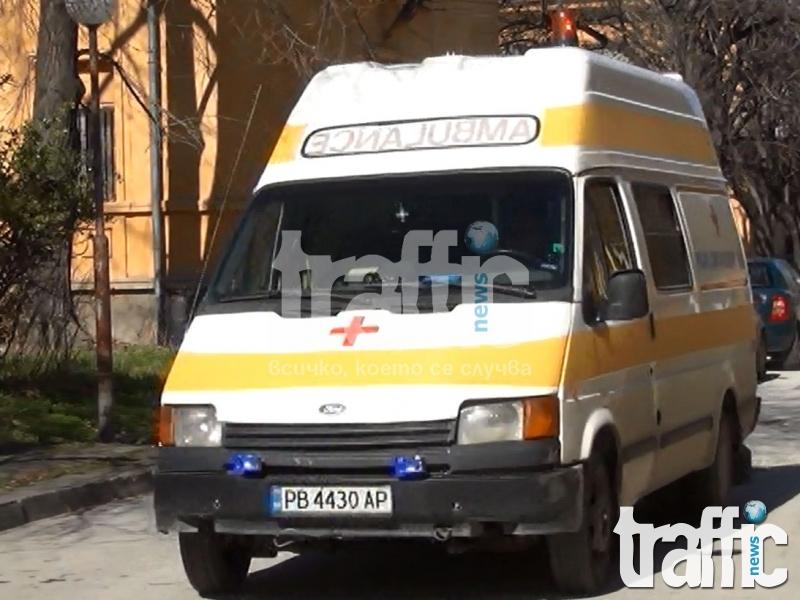 Възрастен мъж в болница след катастрофа в Пловдив