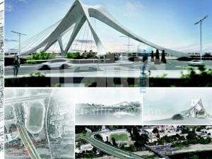 Вижте трите варианта как би изглеждал новият мост на Марица СНИМКИ