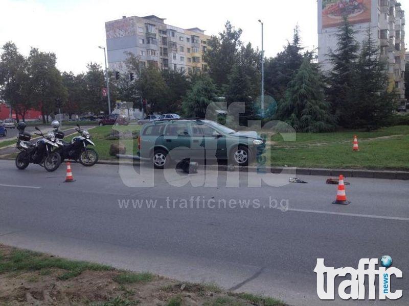 Обадилият се мъж на 112: Убитата жена на Цагиградско е била на тротоара