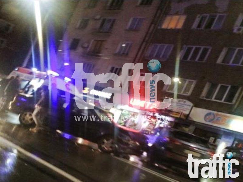 Меле на централен булевард в столицата, има ранени СНИМКИ
